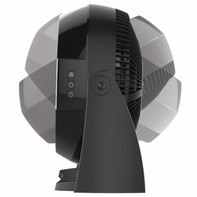The rotation feature of the Power Circulator Fan with Remote Control, Model A10802.