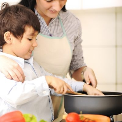 Get rid of kitchen smells after cooking