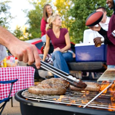 end-of-summer bbq party