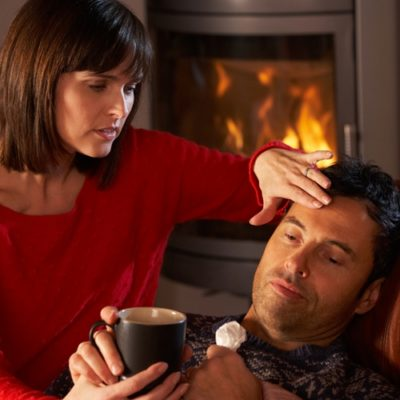 As the weather changes, your risk of contracting influenza increases.