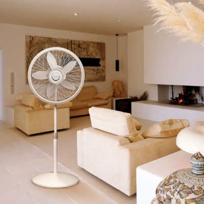 Lasko 18″ Elegance & Performance Pedestal Fan model 1820 in living room