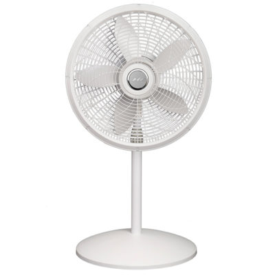 short height of Lasko 18″ Elegance & Performance Pedestal Fan model 1820