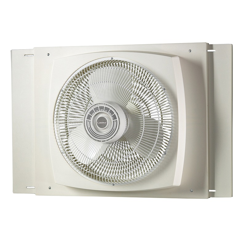 lasko 16″ Electrically Reversible Window Fan model 2155A front