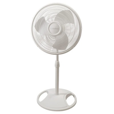 shorter height of Lasko Lasko 16″ Oscillating Stand Fan With Tilt-Back Model 2520