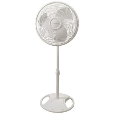 Lasko 16″ Oscillating Stand Fan With Tilt-Back Model 2520