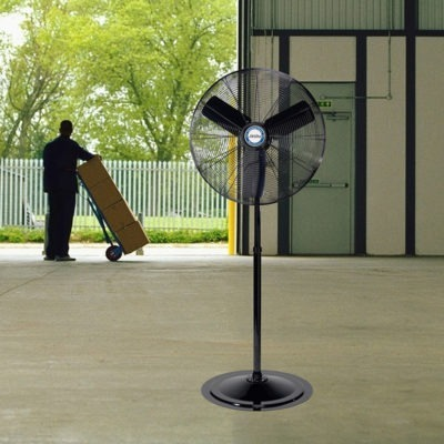 30 Oscillating Industrial Grade Pedestal Fan Lasko Products
