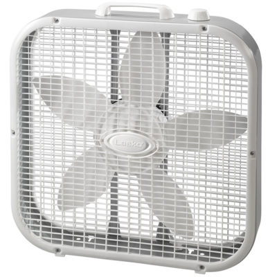 Lasko White Box Fan Model 3733