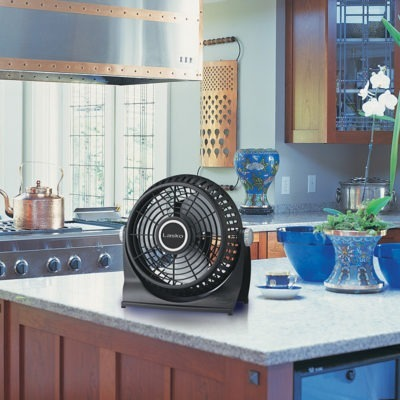 lasko Breeze Machine® Fan model 507 in kitchen