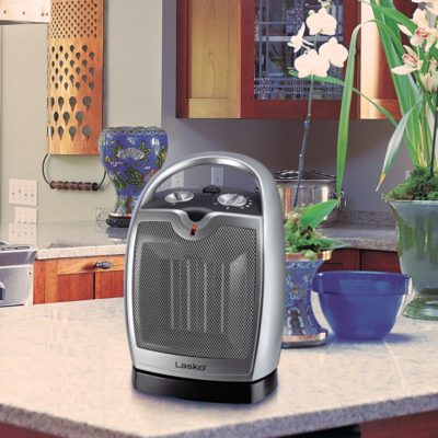 Lasko Oscillating Ceramic Heater Model 5409 in the Kitchen