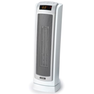 Remote Control Ceramic Tower Heater with Digital Display