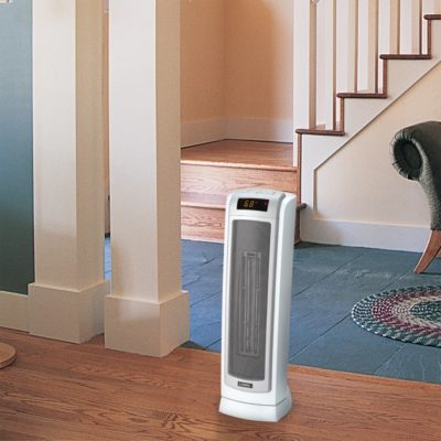 Lasko Remote Control Ceramic Tower Heater with Digital Display Model 5511 Hallway