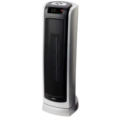 Lasko Remote Control Ceramic Tower Heater with Digital Display Model 5521