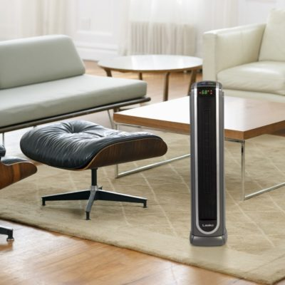 Ceramic Tower Heater with Logic Center Remote Control