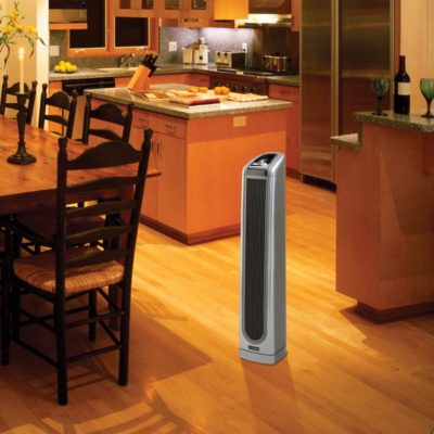 Lasko Electronic 34″ Ceramic Tower Heater with Logic Center Remote Control Model 5588 in the kitchen