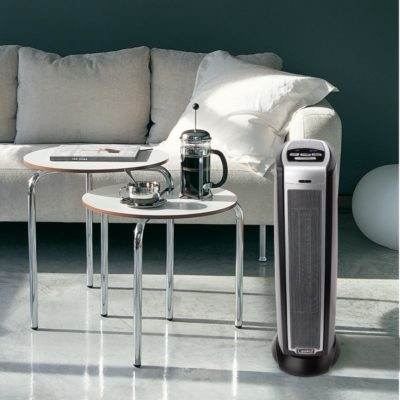 Lasko, Ceramic Tower Heater with Remote Control, Model 5790, In the living room