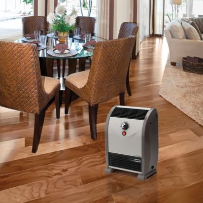 Lasko Automatic Airflow Heater Model 5812 in a dining room