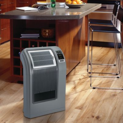 Lasko Cyclonic Digital Ceramic Heater with Remote Control Model 5841 In the kitchen