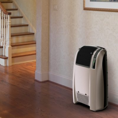 Lasko Digital Cyclonic Ceramic Heater with Remote Control Model 5842 In Hallway