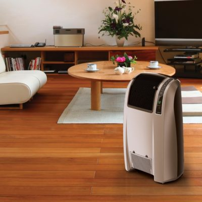 Lasko Digital Cyclonic Ceramic Heater with Remote Control Model 5842 In living room