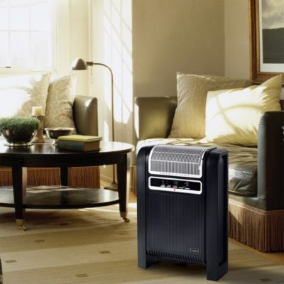Lasko Cyclonic Ceramic Heater Model 6050 in living room