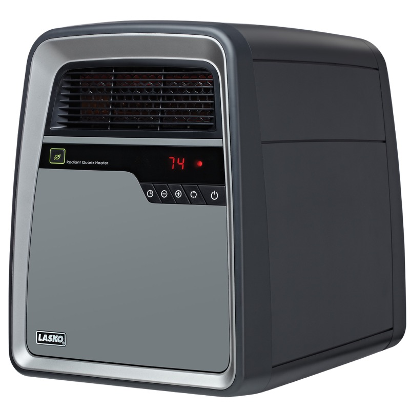 Lasko, Cool-Touch Infrared Quartz Heater, Model 6101, main