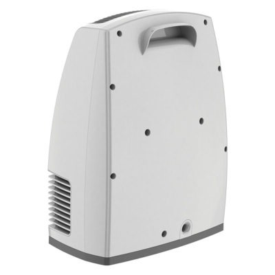 Handle of Lasko Electronic Fan-Forced Heater with Warm Air Motion Technology - White model 6250