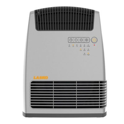 lasko Electronic Fan-Forced Heater with Warm Air Motion Technology - Grey model 6251 front