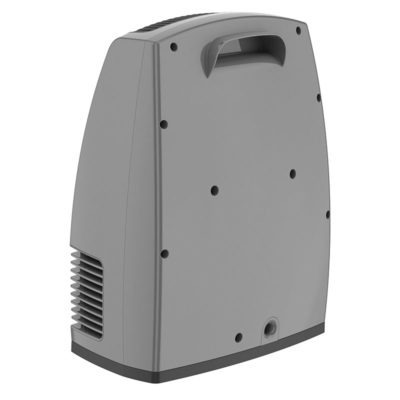 Handle of Lasko Electronic Fan-Forced Heater with Warm Air Motion Technology - Grey model 6251