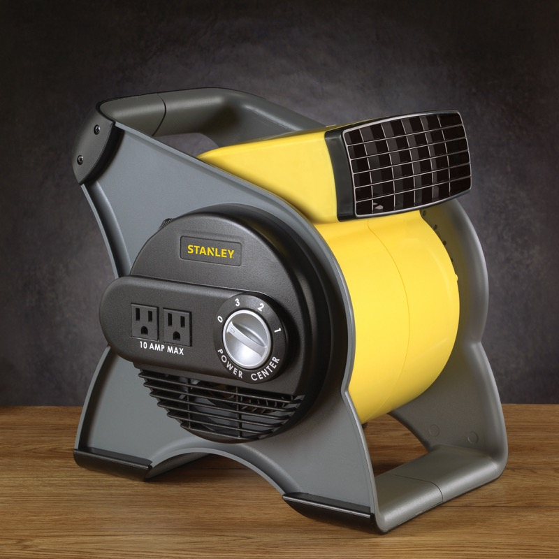 High Speed Blower Fans : Stanley high velocity blower fan lasko products