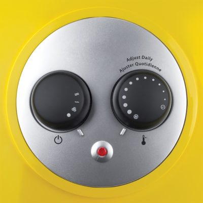 STANLEY® Pro-Ceramic Utility Heater with Pivot Power, Model 675919, controls