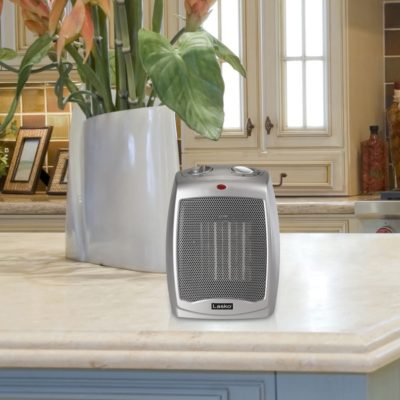 Lasko Ceramic Heater with Adjustable Thermostat Model 754200 in Kitchen