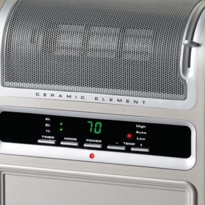 Lasko, Cyclonic Ceramic Heater, Model 758000, control panel