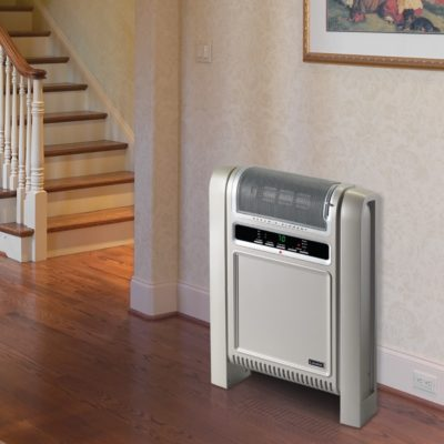 Lasko, Cyclonic Ceramic Heater, Model 758000, in hallway