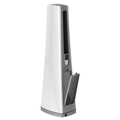 Back View of Lasko Bladeless Tower Fan Model AC600