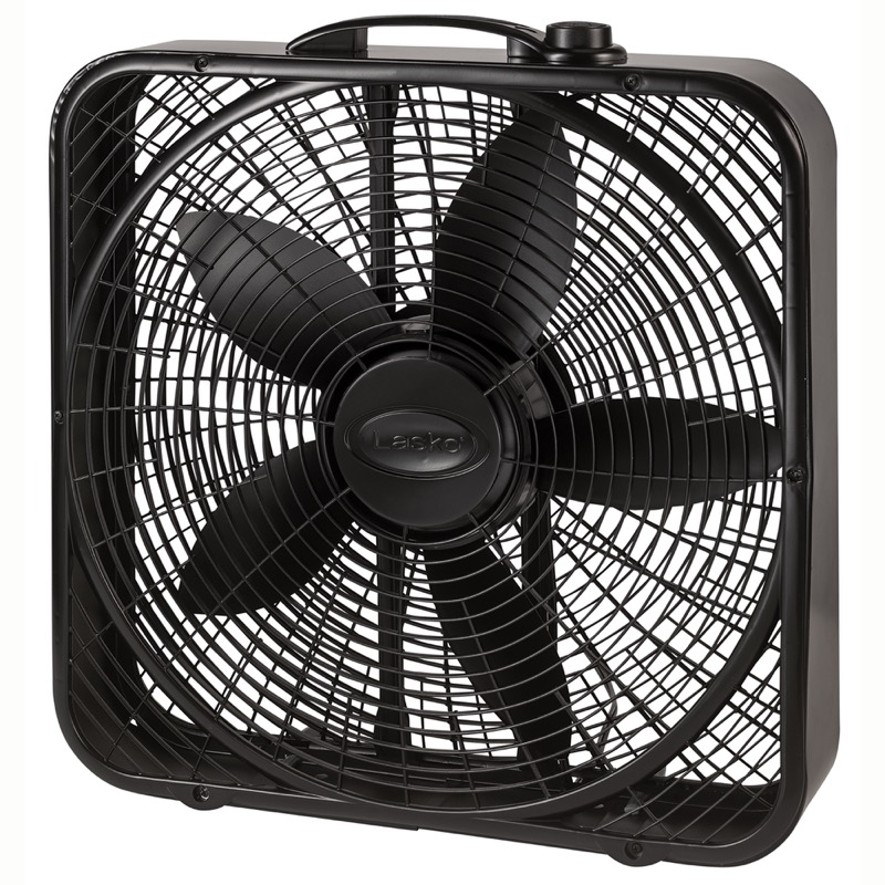Lasko, 20″ Power Plus Box Fan, Model B20801, main view