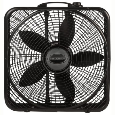 Lasko, 20″ Power Plus Box Fan, Model B20801, main straight view