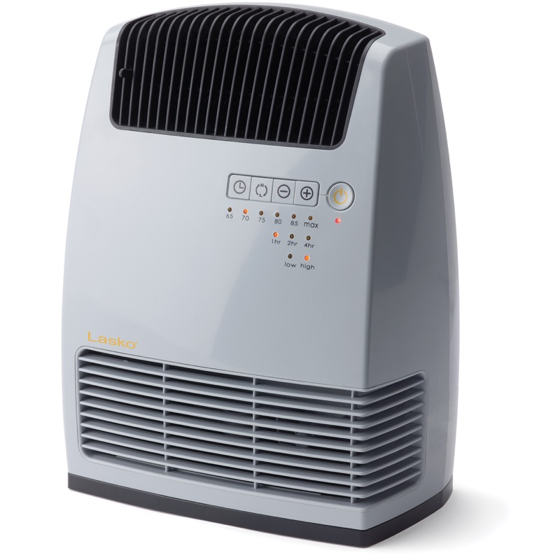 Lasko, Electronic Ceramic Heater with Warm Air Motion Technology Model CC13251, main