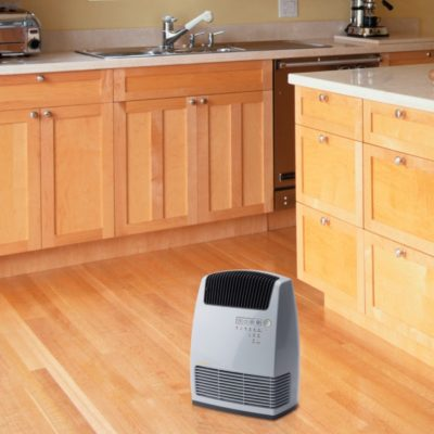 Lasko Electronic Ceramic Heater with Warm Air Motion Technology Model CC13251 in the kitchen