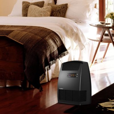 Lasko, Digital Ceramic Heater with Warm Air Motion Technology, Model CC13652, in bedroom