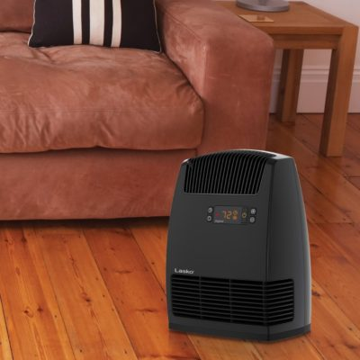 Lasko, Digital Ceramic Heater with Warm Air Motion Technology, Model CC13652, in living room