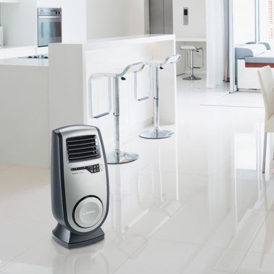 Lasko Ultra Ceramic Heater Model CC23150 in modern kitchen