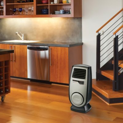 Lasko Ultra Ceramic Heater Model CC23150 in kitchen