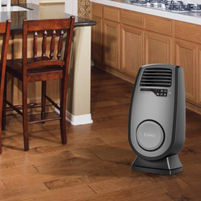 Lasko, Ultra Ceramic Heater with 3D Motion Heat and Remote Control, Model CC23152, in Kitchen