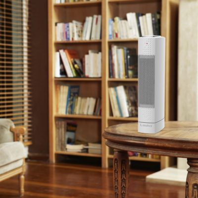 Lasko, Ultra-Slim Ceramic Tower Heater Model CT14102, Environment on table