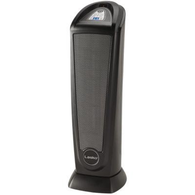 Lasko, Ceramic Tower Heater with Remote, Model CT22415, tilted left