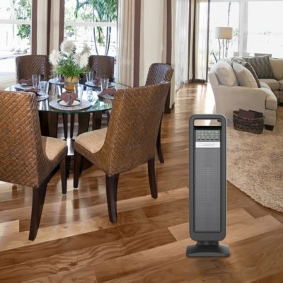 Lasko, Ceramic Tower Heater with Save-Smart Control, Model CT22420, In dinning room