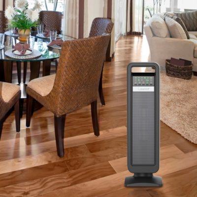 Lasko, Ceramic Tower Heater with Save-Smart Control, Model CT22420, In living room