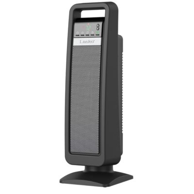 Lasko, Digital Ceramic Tower Heater with Save-Smart Control, Model CT22422, tilted left