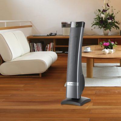 Lasko, Ultra Ceramic Heater, Model CT30710, living room