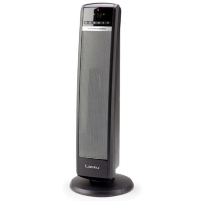 "Lasko, 30"" Tall Tower Heater with Remote Control, model CT30750, front view"